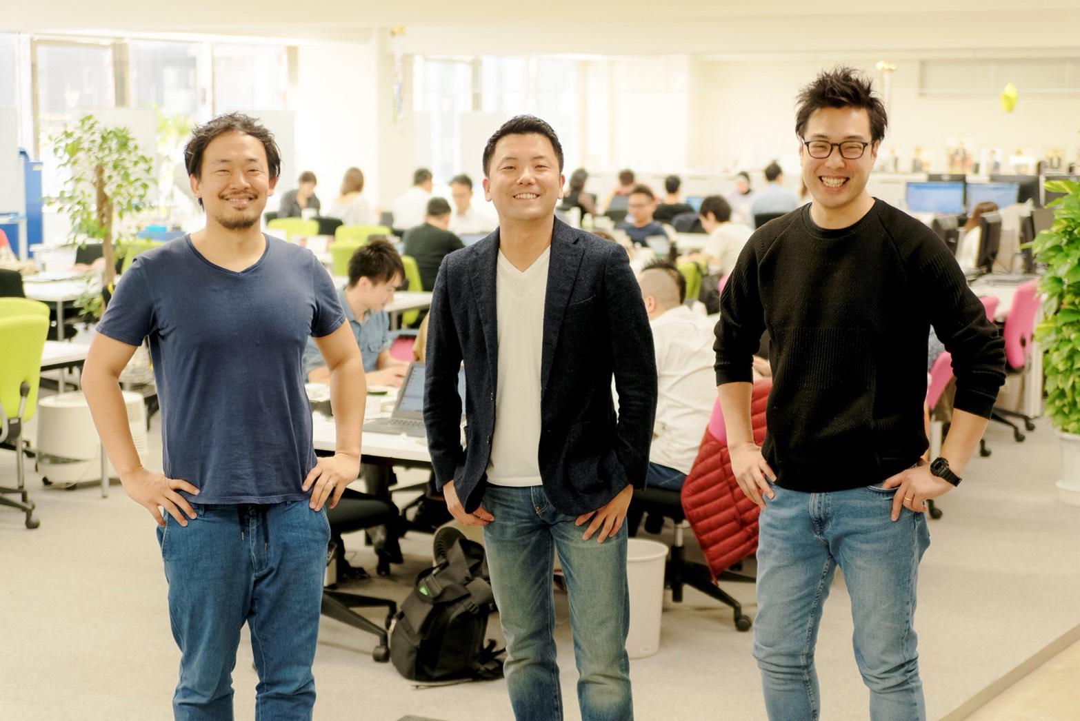 藤井さん、紘太さん、左京さん