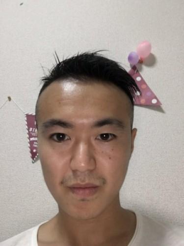 たくま 髪切った